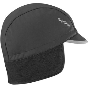 GripGrab Winter Zimowa czapka rowerowa, czarny